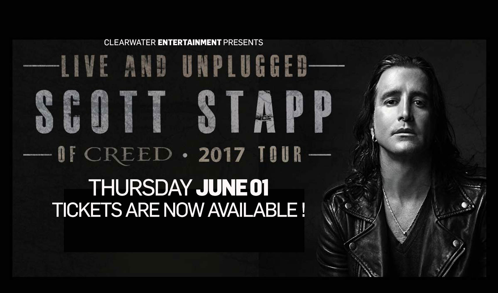 Scott Stapp at Clearwater Casino Resort